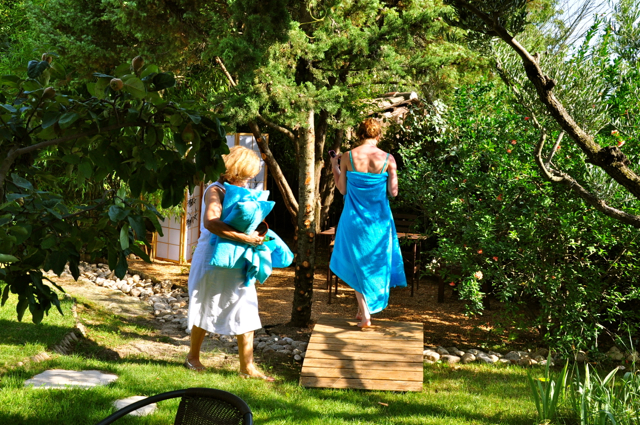 massage en plein air / nature massage nature in Uzes